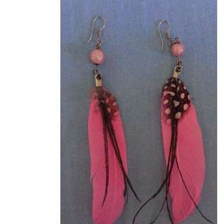 Red Indian Earing
