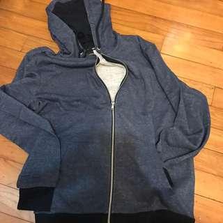 h&m hoodie jacket