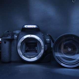 Canon 550D + Tamron Lens