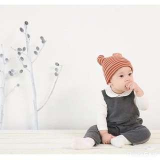 Stripe Beanie Hat