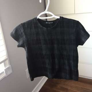 Brandy Melville Checkered Top