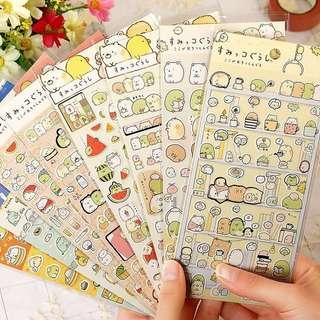 Sumikko Gurashi Gold Foil Scrapbook / Planner Stickers #32