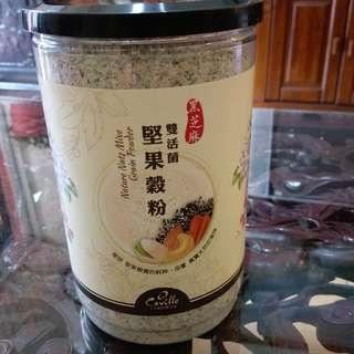 雙活菌堅果穀粉