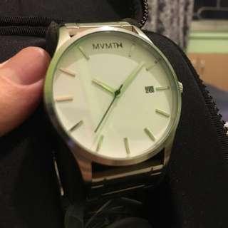 MVMT White Dial Steel Watch