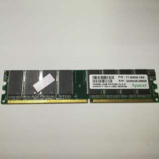 Apacer PC3200 DDR400 256MB