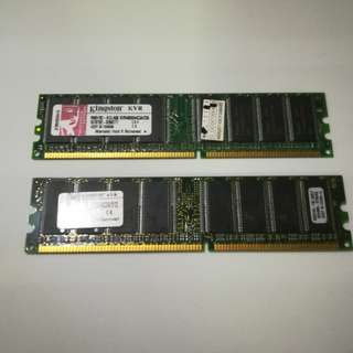 Kingston RAM PC3200 DDR400 256MB /512MB