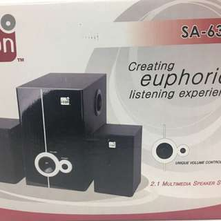 I-Con Multimedia Speaker System