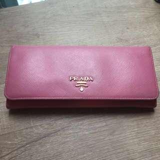 二手 Prada Wallet 70%new