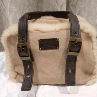 Ugg Sheep Wool and sheepskin bag