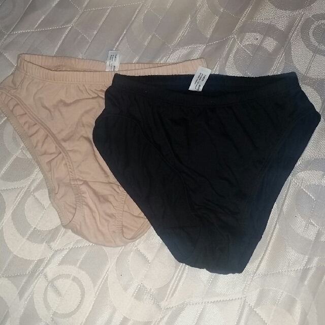 2 pcs Melissa Avon Hi-leg undies ( repriced to 100)