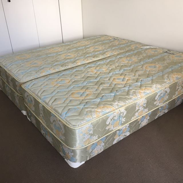 2x Free Bed base and mattress