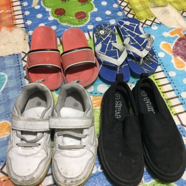 5/6 yrs old shoes & slipper by set