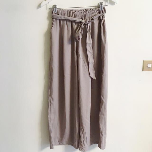 裸色 粉膚色 氣質款 寬褲
