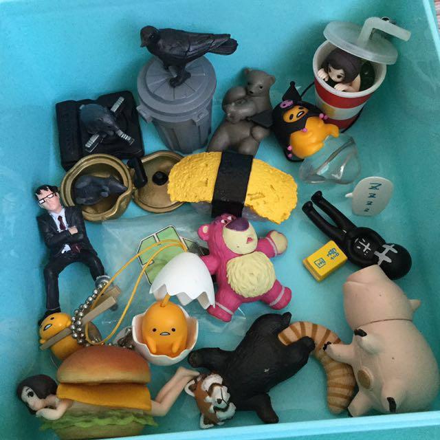 扭蛋 杯緣子 神奇寶貝 壽司 玩具總動員 出清 蛋黃哥