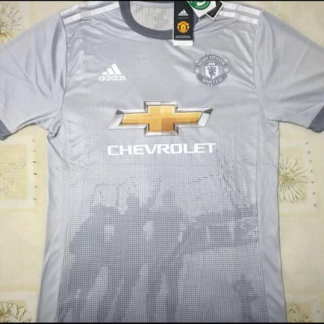 Exclusive Manchester United Third Kit Season 17 18 Sports Sports Apparel On Carousell