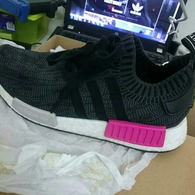 8778ce4cd51ff Adidas Nmd R1 Shock Pink original Ya baru Pake 4x