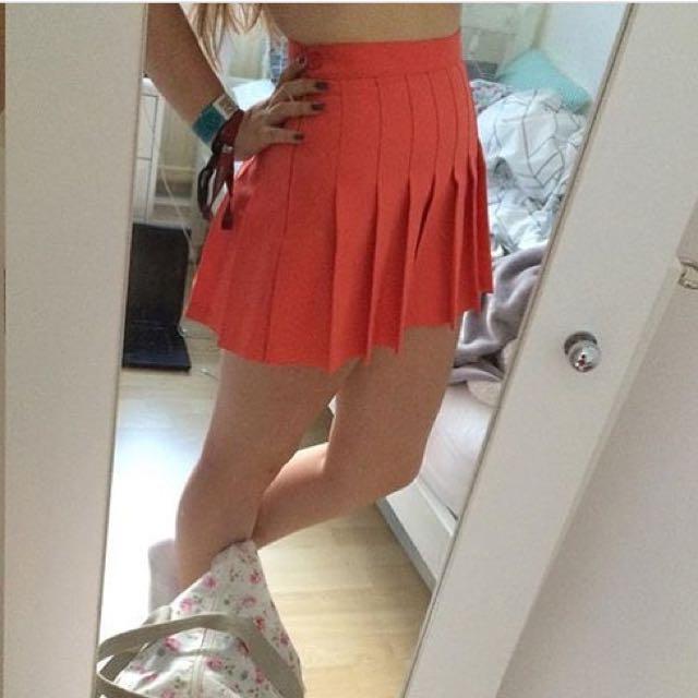 American apparel watermelon tennis skirt