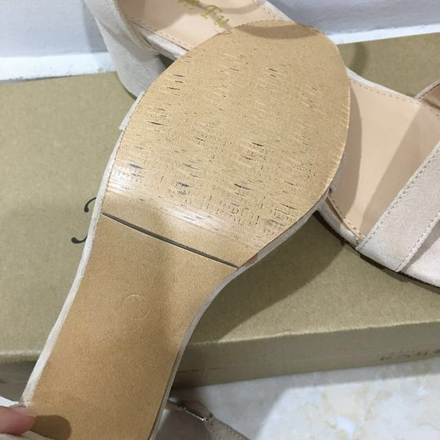 Ankle Strap Sandal/Heels (price reduced!)