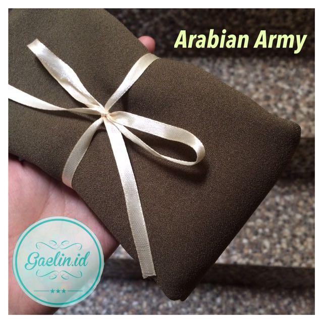 Arabian Square Hijab Jilbab