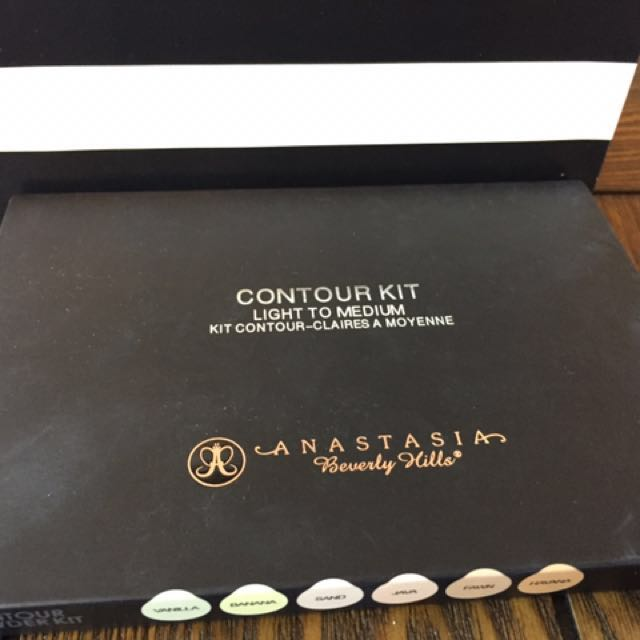 Authentic Anastasia Beverly Hills Contour Kit
