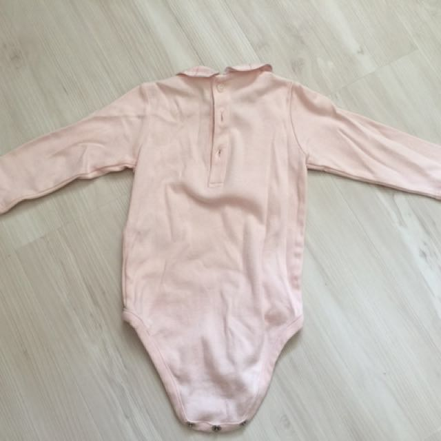 33ec54cb39ec Authentic Burberry baby girl romper, Babies & Kids, Babies Apparel on  Carousell