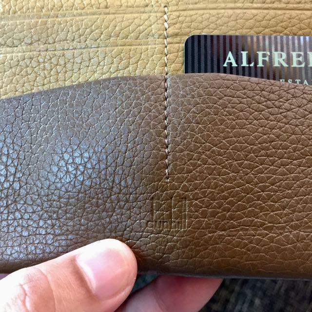 Authentic Dunhill Wallet