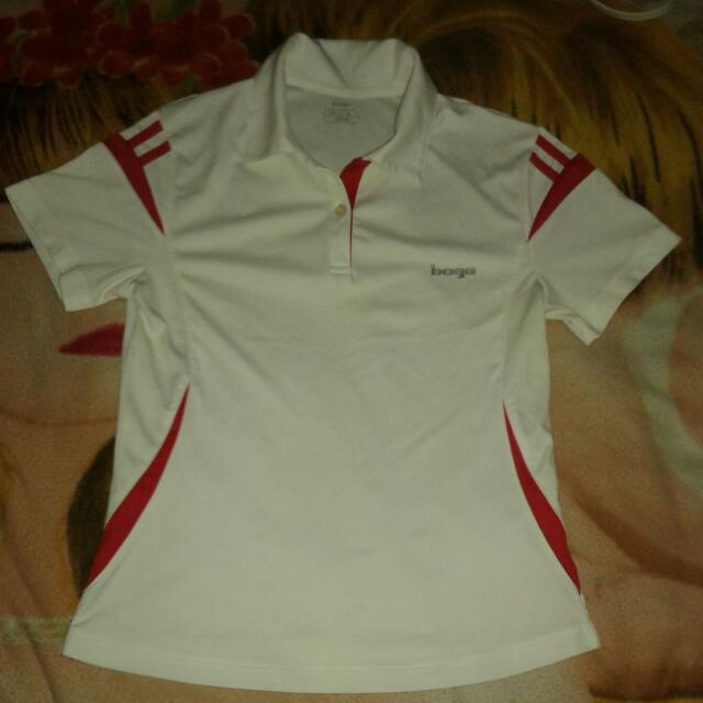 Bage Polo Shirt (White)