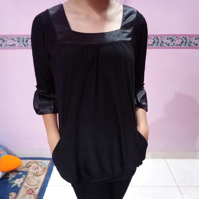 Baju hitam Body and Soul