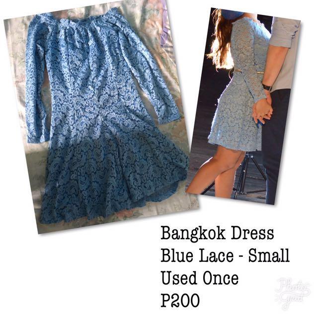 Bangkok Blue Dress