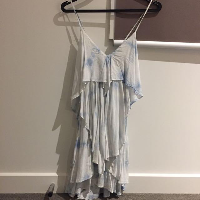 Bardot Size 6 Summer Tie-dye Dress
