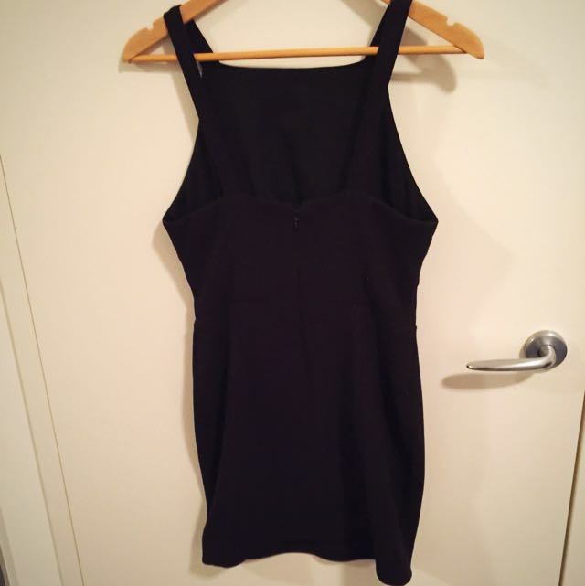 Bec & Bridge Dress With Front Cut Out