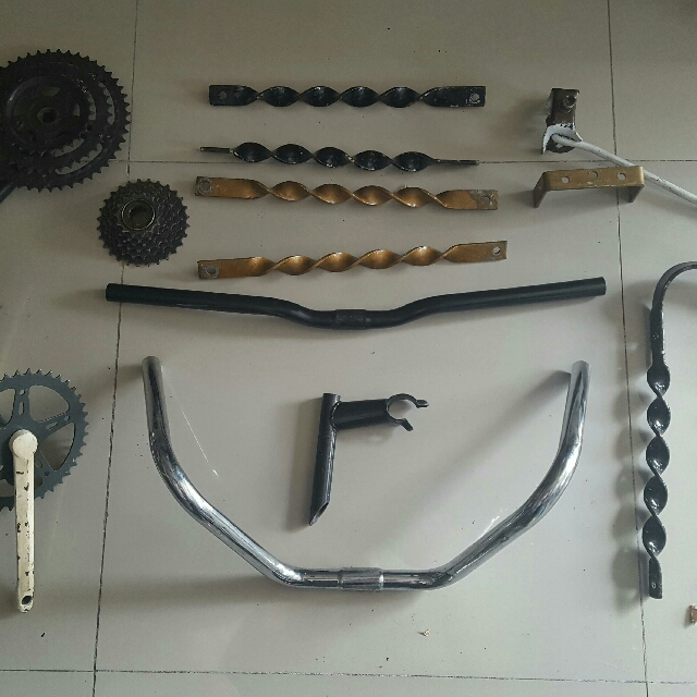 Bike Frame Tires And Parts