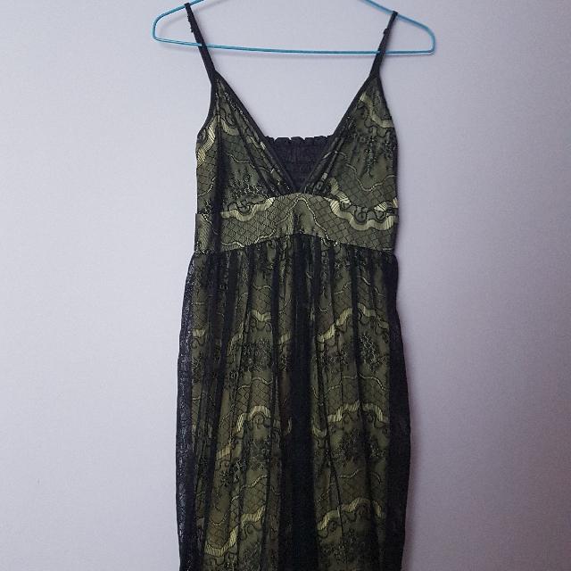 Black Lace Dress/Sleepwear