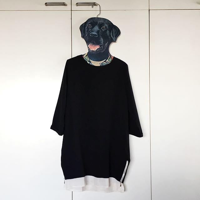 Black Long Top