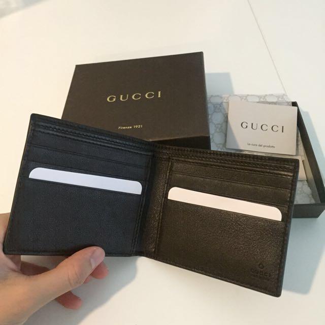 9c73c86e3c2 BNIB Gucci MicroGuccissima bi-fold wallet Style 145754 BMJ1R 4009 ...