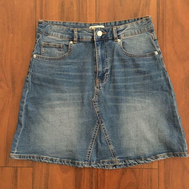 Brand New G Perfect Jeans High Waist Denim Skirt