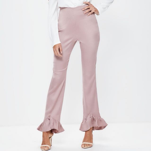 BRAND NEW pink frill pants