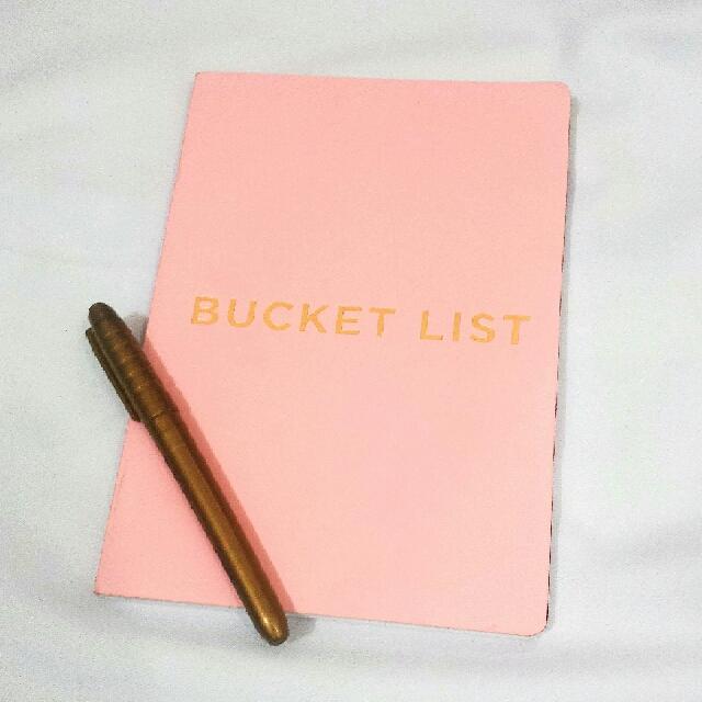 Bucket List Planner from Mi Goals US