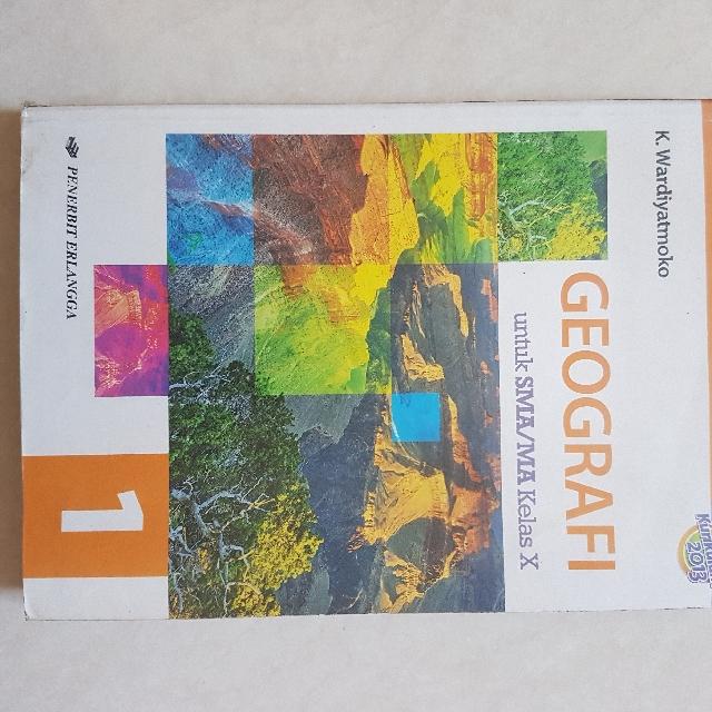 buku geografi sma kelas 1