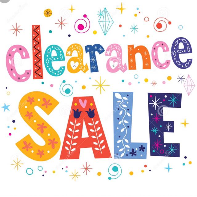 🏆CLEARANCE SALE 🏆