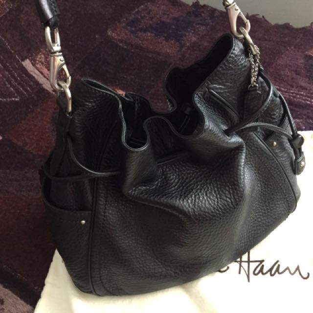 Cole Haan pebbled leather bag