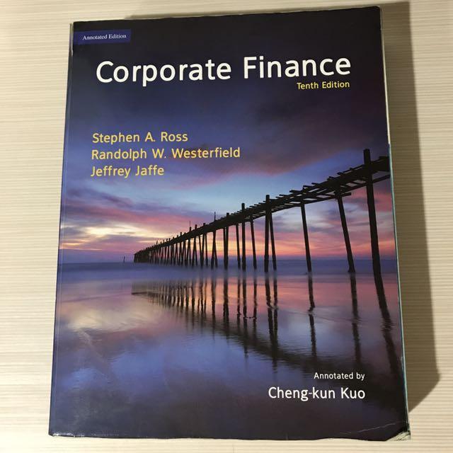 Corporate finance 第十版