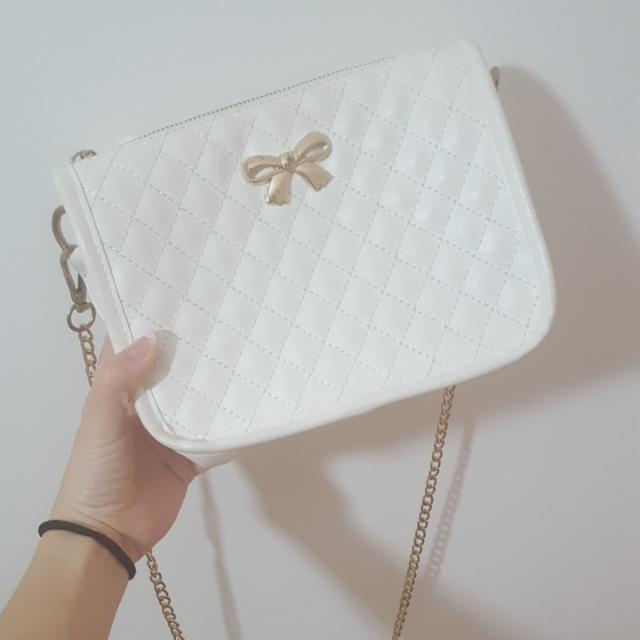 Cute White Bag