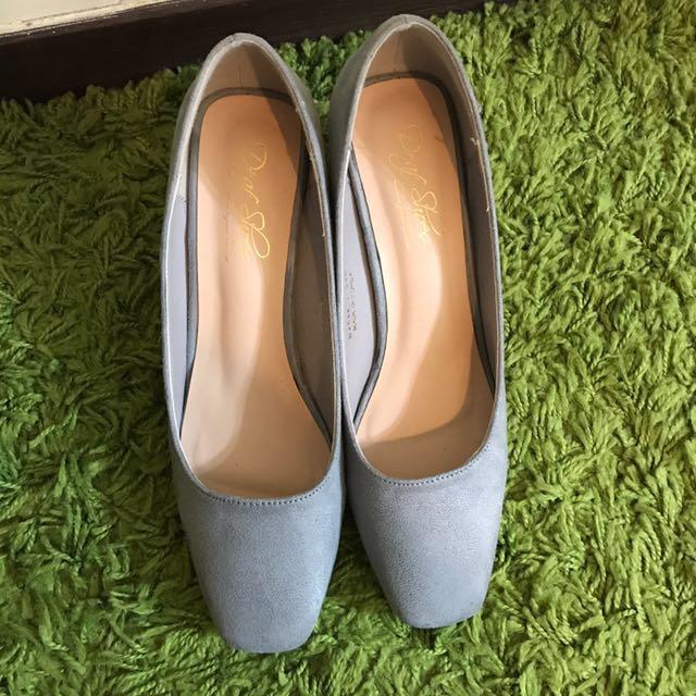 D+AF 灰色中根鞋 23.5