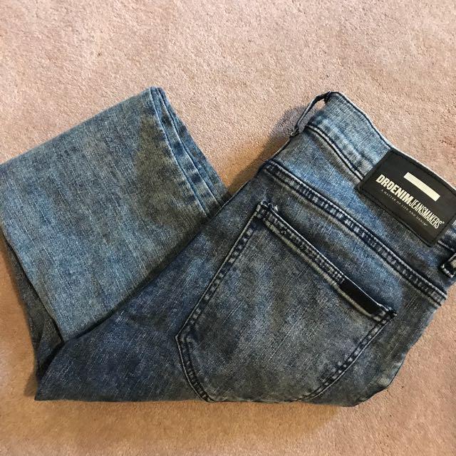 Dr denim acid wash jeans 29/32