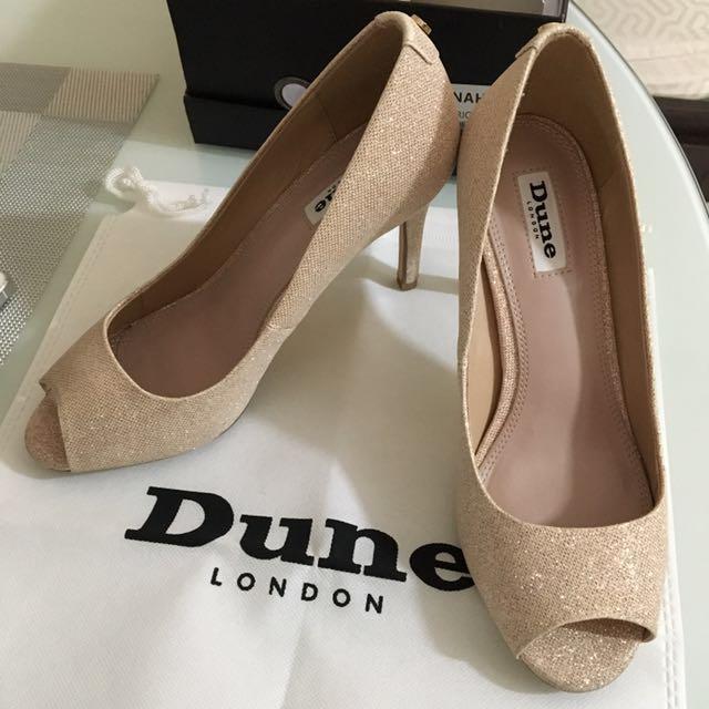 Dune London Peep Toe Formal Shoes
