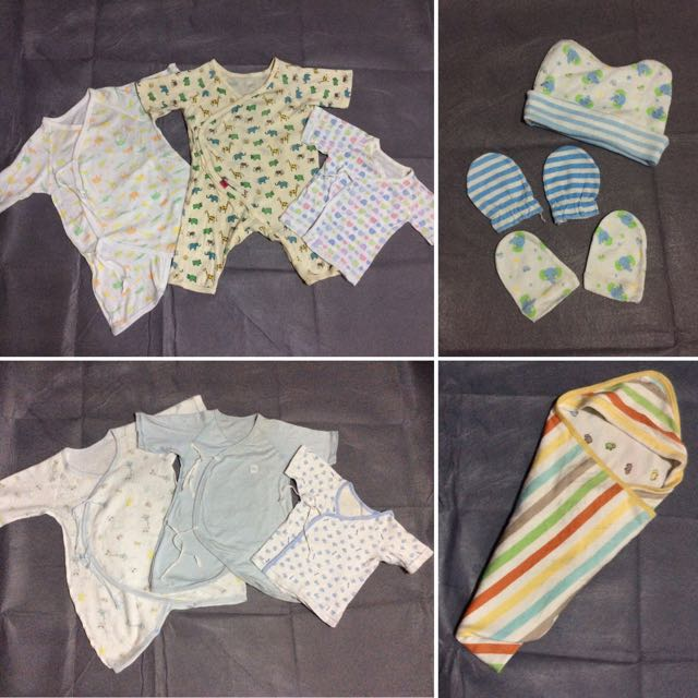 Elephant newborn boy clothes, stuff