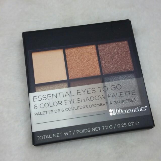 Essential Eyes To Go - Bh cosmetics