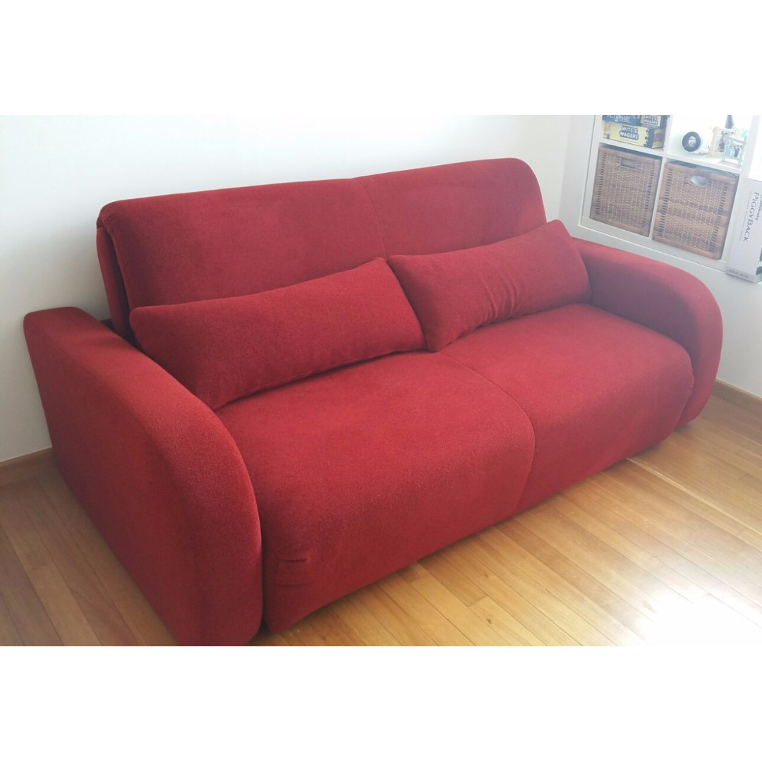 Excellent Condition Om 3 Seater Queen Size Sofa Bed