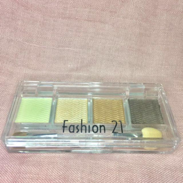 Fashion 21 Eyeshadow Bar